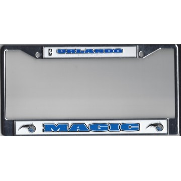 Orlando Magic Chrome License Plate Frame
