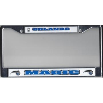 Orlando Magic Chrome License Plate Frame