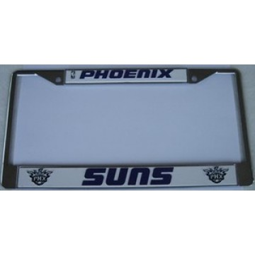 Phoenix Suns Chrome License Plate Frame