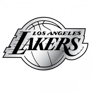 Los Angeles Lakers NBA Chrome Auto Emblem