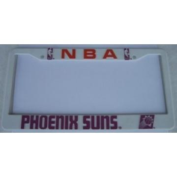 Phoenix Suns Plastic License Plate Frame