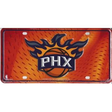 Phoenix Suns Metal License Plate