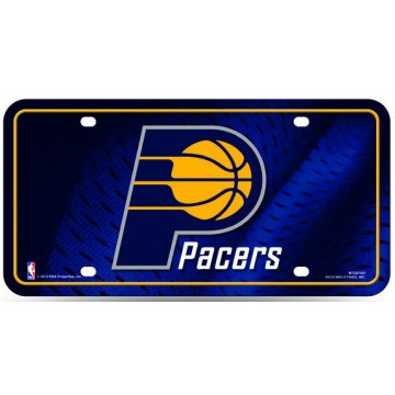 Indiana Pacers Metal License Plate