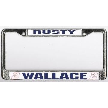 Rusty Wallace #2 Chrome Plated NASCAR Frame