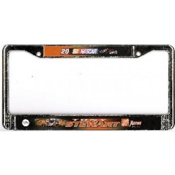 Tony Stewart #20 License Plate Frame