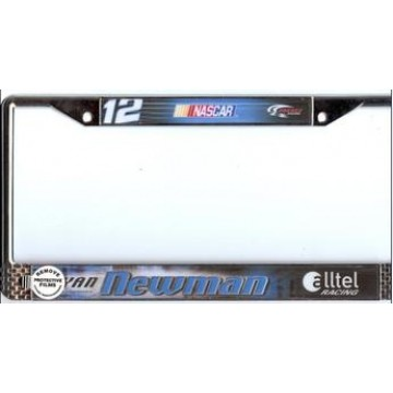 Ryan Newman #12 Nascar Chrome License Plate Frame