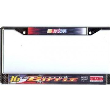 Greg Biffle #16 Nascar Chrome License Plate Frame