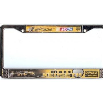 Matt Kenseth #17 Nascar Chrome License Plate Frame