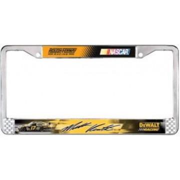 Matt Kenseth #17 Chrome License Plate Frame