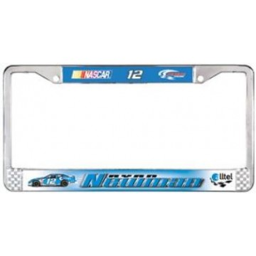 Ryan Newman Chrome License Frame