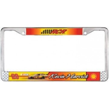 Kevin Harvick Chrome License Frame