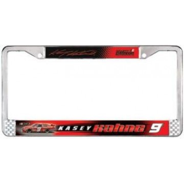 Kasey Kahne #9 Chrome License Frame