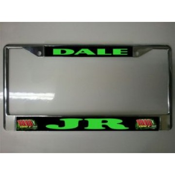 Dale Earnhardt Jr. #88 Chrome License Plate Frame