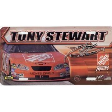 Tony Stewart #20 Nascar License Plate