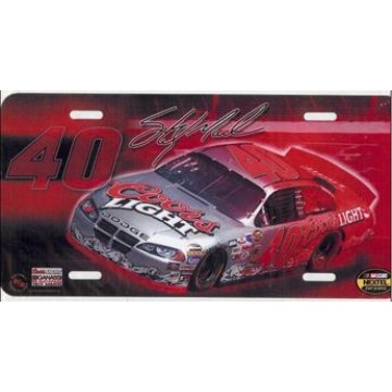 Sterling Marlin #40 Nascar License Plate