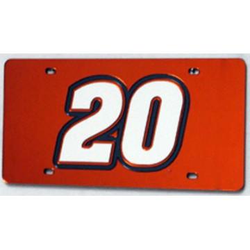 Tony Stewart Laser License Plate