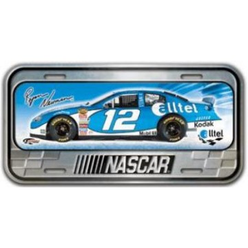 Ryan Newman Domed License Plate