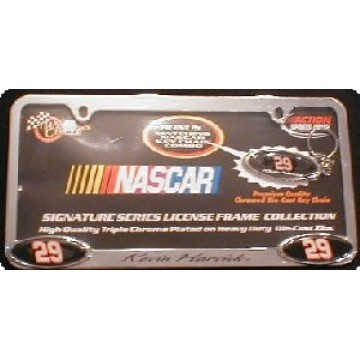 Kevin Harvick #29 NASCAR Triple Chrome Plated Frame
