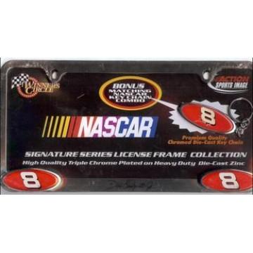 Dale Earnhardt Jr. Signature Series Chrome License Frame