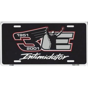 Dale Earnhardt 1951-2001 #3 Intimidator Metal License Plate