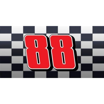 Dale Earnhardt Jr. #88 Photo License Plate