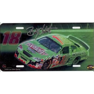 Bobby Labonte #18 Nascar License Plate