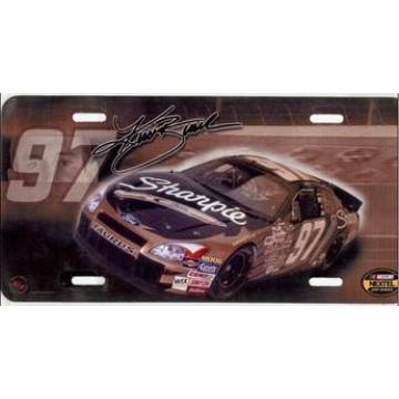 Kurt Bush #97 Nascar License Plate