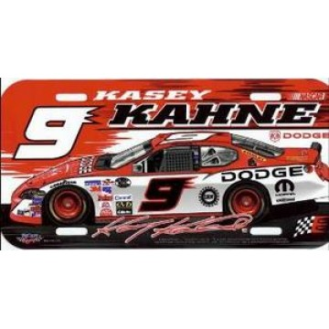Kasey Kahne #9 Nascar Plastic License Plate