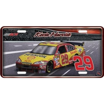 Kevin Harvick Nascar Metal License Plate