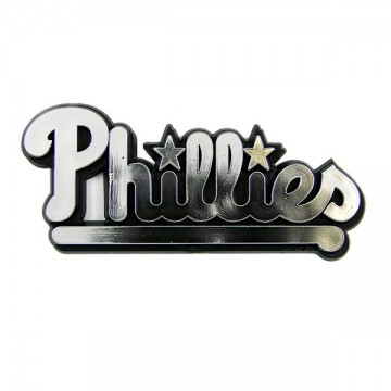 Philadelphia Phillies MLB Chrome Auto Emblem