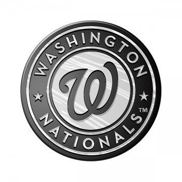Washington Nationals MLB Chrome Auto Emblem