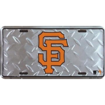 San Francisco Giants Diamond License Plate