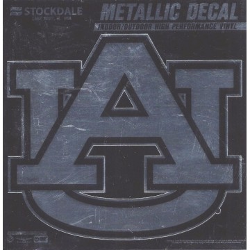 Auburn Tigers Chrome Vinyl Decal