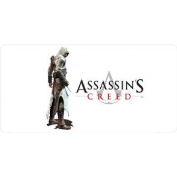 Assassins Creed Photo License Plate