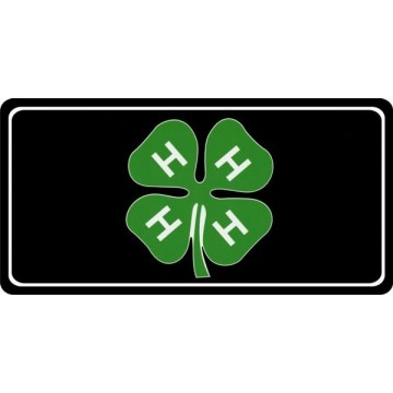 4-H Photo License Plate