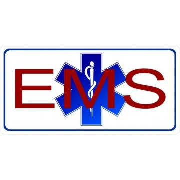 EMS Photo License Plate