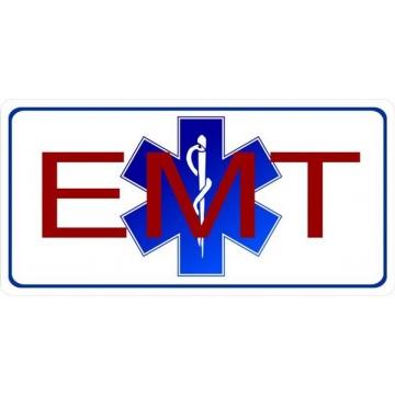 EMT Photo License Plate