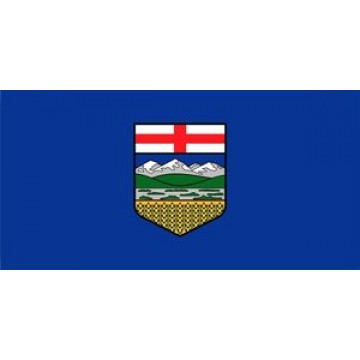 Alberta Flag Photo License Plate