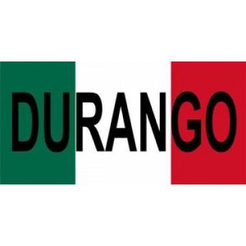 Mexico Durango Photo License Plate