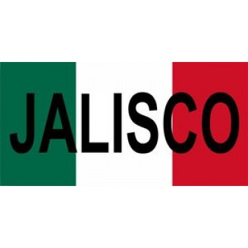 Mexico Jalisco Photo License Plate