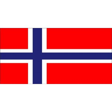 Norway Flag Photo License Plate