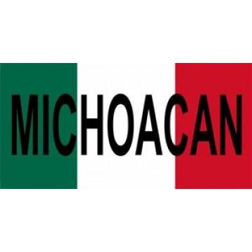 Mexico Michoacan Photo License Plate
