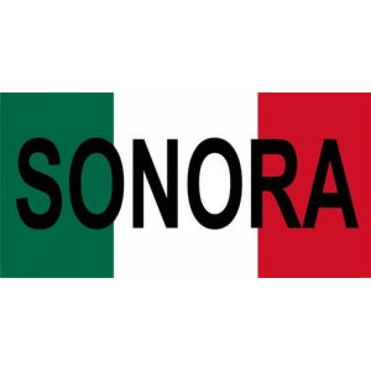 Mexico Sonora Photo License Plate