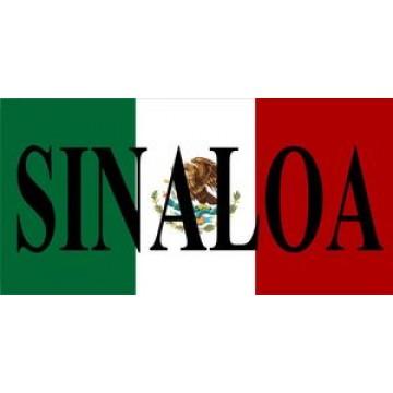 Mexico Sinaloa Photo License Plate