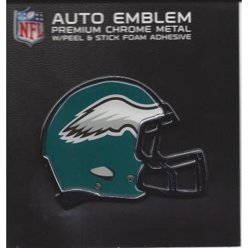 Philadelphia Eagles Color Metal Auto Emblem