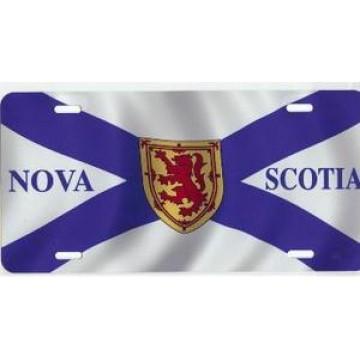 Nova Scotia Flag Airbrush License Plate