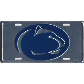 Penn State Anodized License Plate