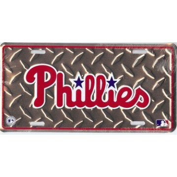 Philadelphia Phillies Diamond License Plate