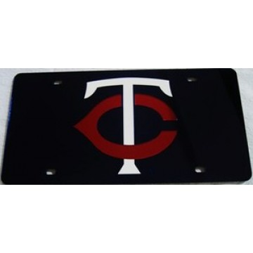 Minnesota Twins Blue Laser License Plate
