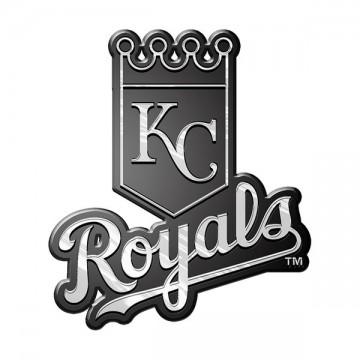 Kansas City Royals MLB Chrome Auto Emblem
